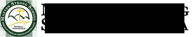 Maxton Strong School, Banbasa Retina Logo